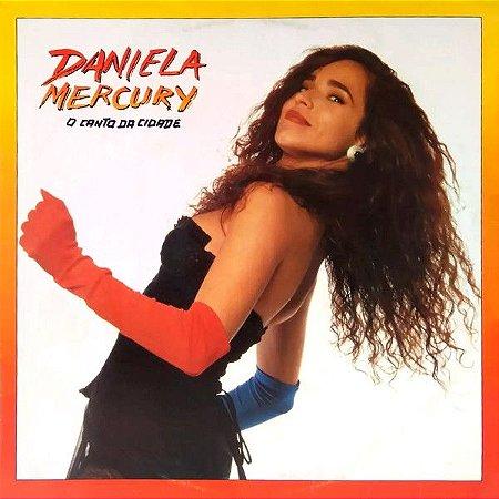 LP - Daniela Mercury – O Canto Da Cidade