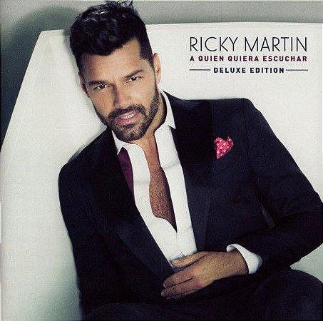 CD - Ricky Martin – A Quien Quiera Escuchar
