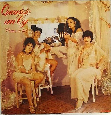 LP  - Quarteto Em Cy - Pontos De Luz