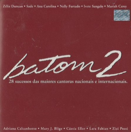 CD - Batom 2 - DUPLO (Vários Artistas)
