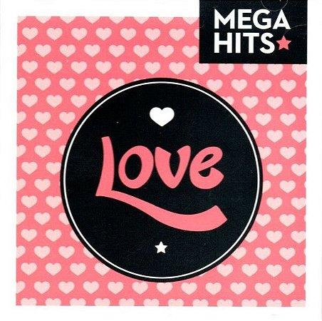 CD - Mega Hits - Love (Vários Artistas)