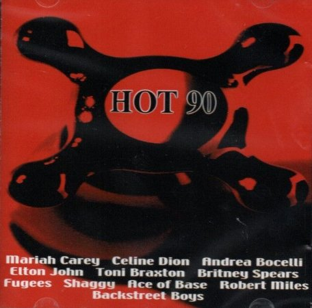CD - Hot 90 (Vários Artistas)