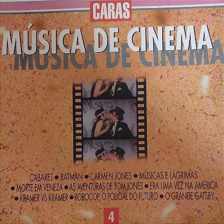 CD - Música de Cinema - Vol. 4 - (Vários Artistas)