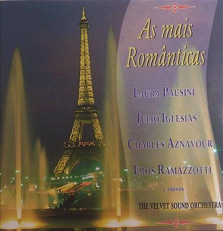 CD - As Mais Românticas - The Velvet Sound Orchestra