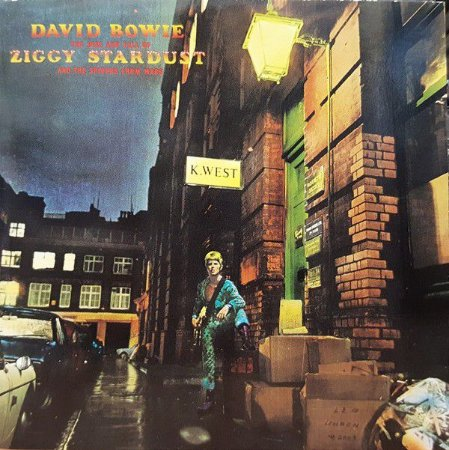 CD - David Bowie – The Rise And Fall Of Ziggy Stardust And The Spiders From Mars (Novo - Lacrado) - Remastered
