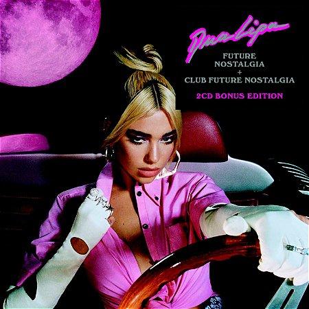 CD - Dua Lipa – Future Nostalgia + Club Future Nostalgia (Novo - lacrado)  - Bonus Edition