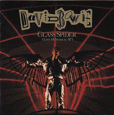 CD - David Bowie – Glass Spider (Live Montreal '87) - Remastered (Novo - lacrado) - Cd Duplo