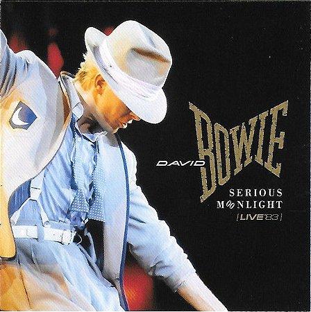CD - David Bowie – Serious Moonlight (Live '83) - Remastered (Novo - lacrado) - Cd Duplo