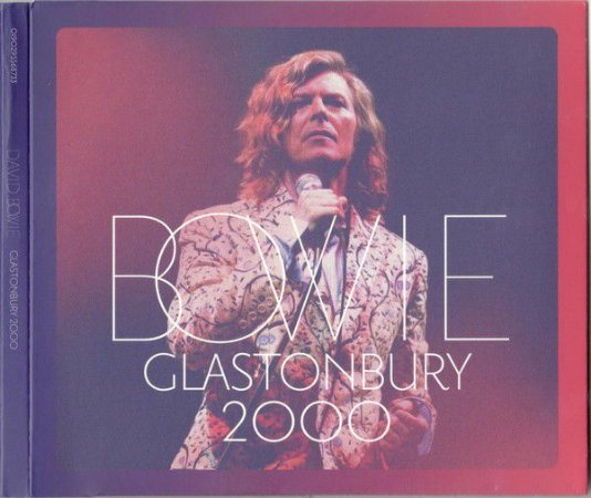 CD - David Bowie – Bowie Glastonbury 2000 (Novo - Lacrado) - (Cd duplo)