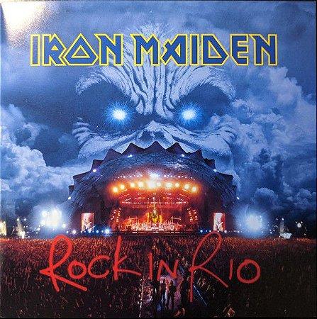 CD - Iron Maiden – Rock In Rio (Novo - Lacrado) - (Cd Duplo ) - Remastered
