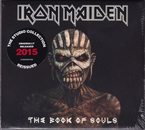 CD - Iron Maiden ‎– The Book Of Souls (Digipack) - (Cd duplo)   - Novo/ lacrado