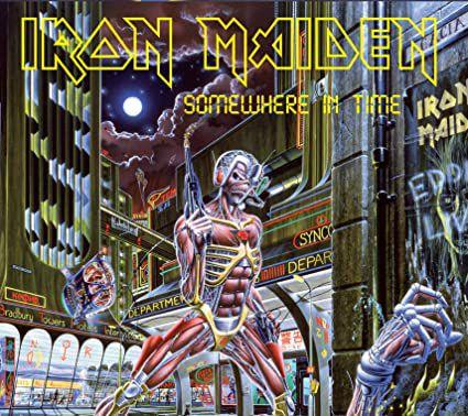 CD - Iron Maiden – Somewhere In Time (Novo - lacrado) - Digipak