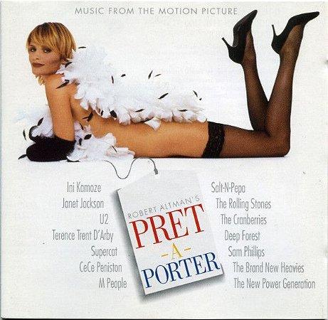 CD -  Pret-A-Porter - (Music From The Motion Picture) (Vários Artistas) (Europa)