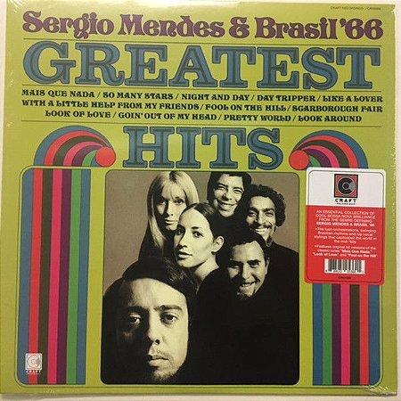 LP - Sérgio Mendes & Brasil '66 – Greatest Hits - IMPORTADO (EUA) NOVO (LACRADO)