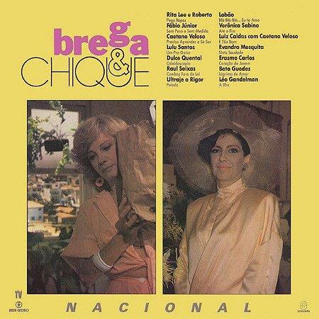 LP - Brega & Chique Nacional (Novela Globo) (Vários Artistas)