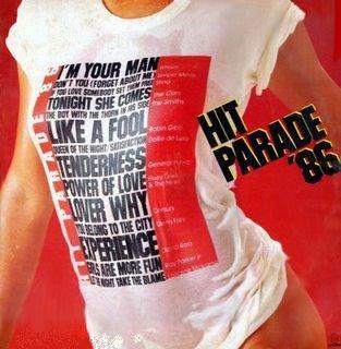 LP - Hit Parade 86 (Vários Artistas)