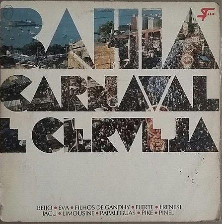 LP - Bahia Carnaval E Cerveja (Vários Artistas)