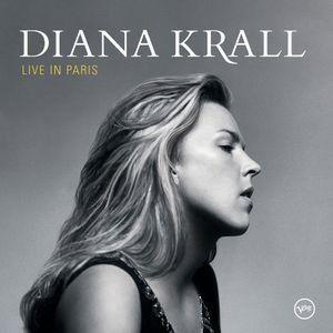 CD - Diana Krall - Live in Paris (sem contracapa)