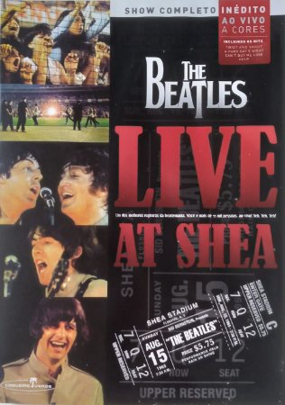 DVD - THE BEATLES - LIVE AT SHEA