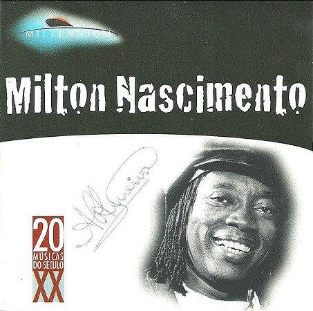 CD - Milton Nascimento (Coleção Millennium - 20 Músicas Do Século XX)