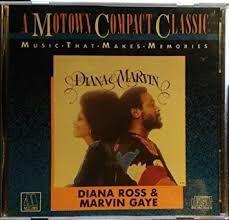 CD - Diana & Marvin - Diana Ross & Marvin Gaye( A Motown Compact Classic ) IMP EUA