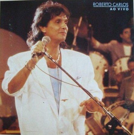 CD - Roberto Carlos Ao Vivo (1988)
