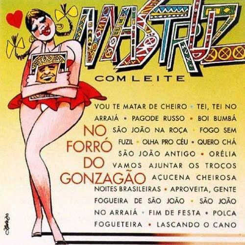 CD - Mastruz Com Leite - No Forró Do Gonzagão