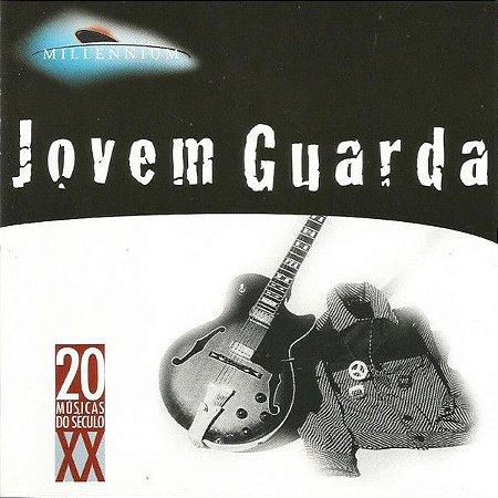 CD - Jovem Guarda  (Coleção Millennium - 20 Músicas Do Século XX) (Vários Artistas)