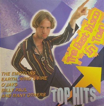 CD - The Best Disco In Town - Top Hits (Vários Artistas)