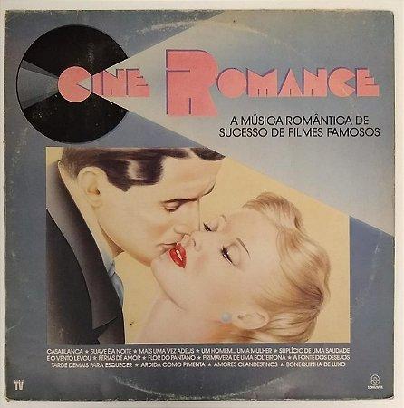 LP - Cine Romance (Vários Artistas)