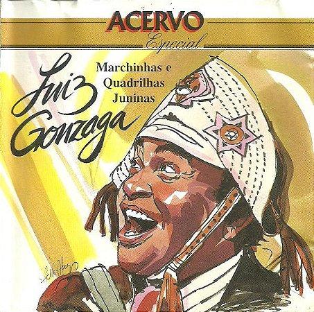 CD - Luiz Gonzaga - Marchinhas e Quadrihas Juninas (Coleção Acervo Especial)