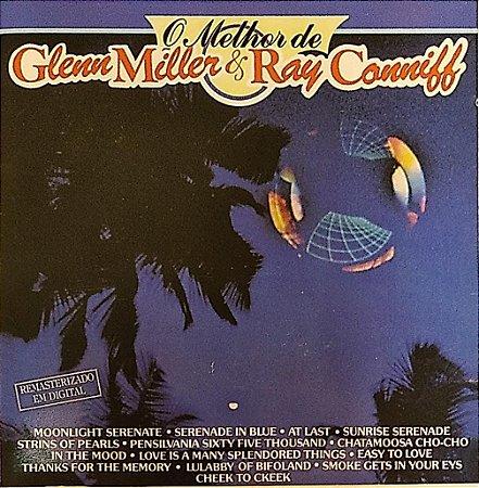 CD - O Melhor de Glenn Miller & Ray Conniff - Banda Reveillon