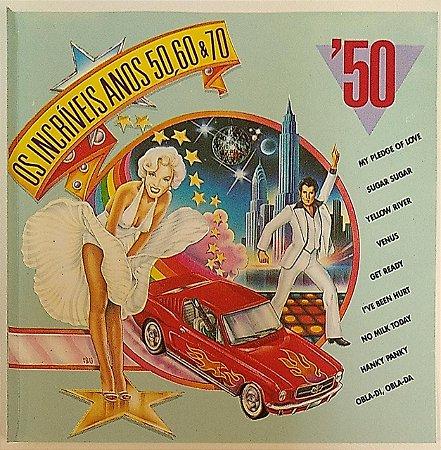 CD - Crazy Eddie And The Mastermixes – Os Incríveis Anos 50, 60 & 70 - Anos 50