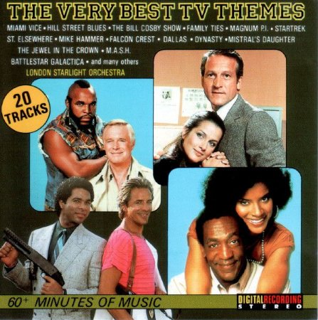 CD - London Starlight Orchestra – The Very Best TV Themes