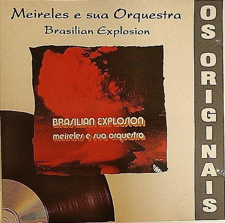 CD - Brasilian Explosion - Meireles E Sua Orquestra (Coleção Os Originais)