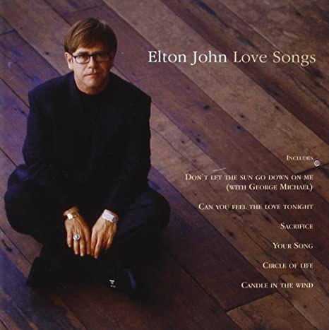 CD - Elton John - Love Songs - IMP