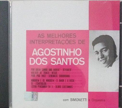 CD - Agostinho Dos Santos – As Melhores Interpretações