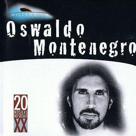 CD - Oswaldo Montenegro (Coleção Millennium - 20 Músicas Do Século XX)