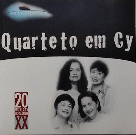 CD - Quarteto em Cy (Coleção Millennium - 20 Músicas Do Século XX)