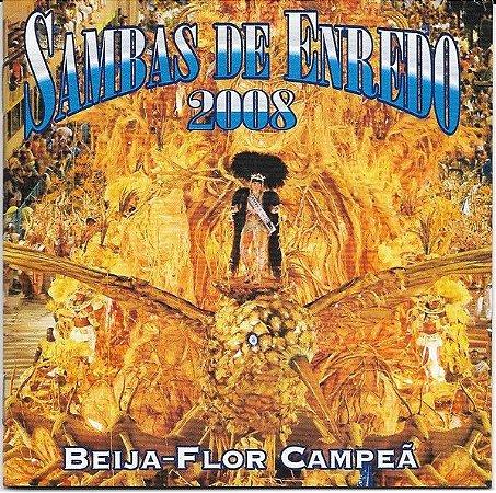 CD - Sambas De Enredo 2008 (Vários Artistas)