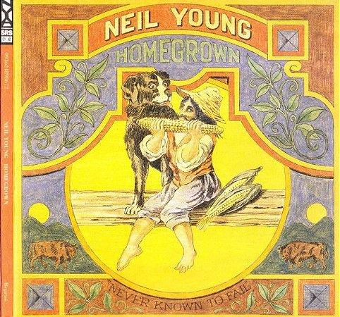 CD - Neil Young – Homegrown (Novo (Lacrado) - Digipack