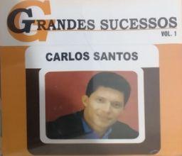 CD - Carlos Santos Vol.1 - Paraíso do Amor (Coleção Grandes Sucessos)