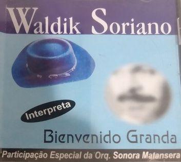 CD - Waldik Soriano Interpreta Bienvenido Granada