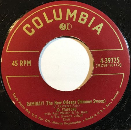 Compacto - Jo Stafford - Raminay / Within You Arms