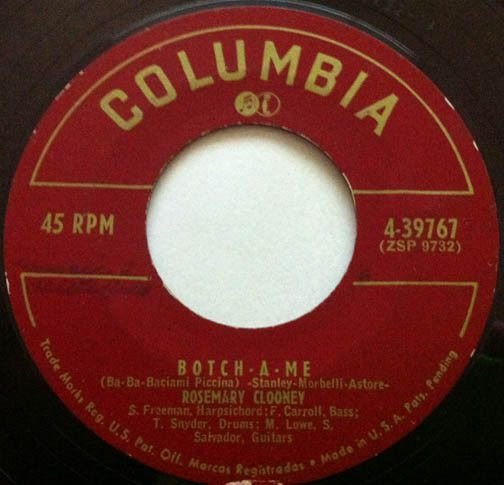 Compacto - Rosemary Clooney - Botch - A - Me / On The First Warm Day