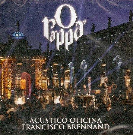 CD - O Rappa  - Acústico Oficina Francisco Brennand (Novo Lacrado)