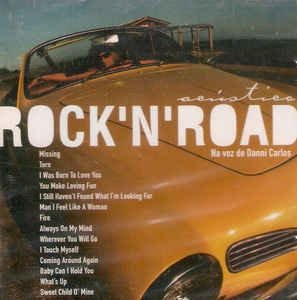 CD - Danni Carlos - Acústico Rock 'N' Road (Sem contracapa)