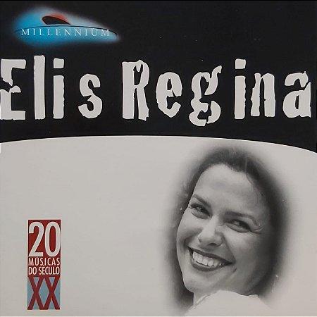 CD - Elis Regina – (Coleção Millennium - 20 Músicas Do Século XX)