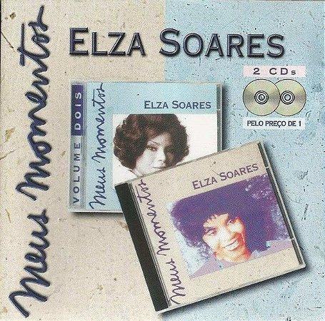 CD - Elza Soares (Coleçao Meus Momentos Volume 1 & 2) (Duplo)