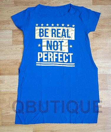 Camisa Tapa Bumbum Azul Royal